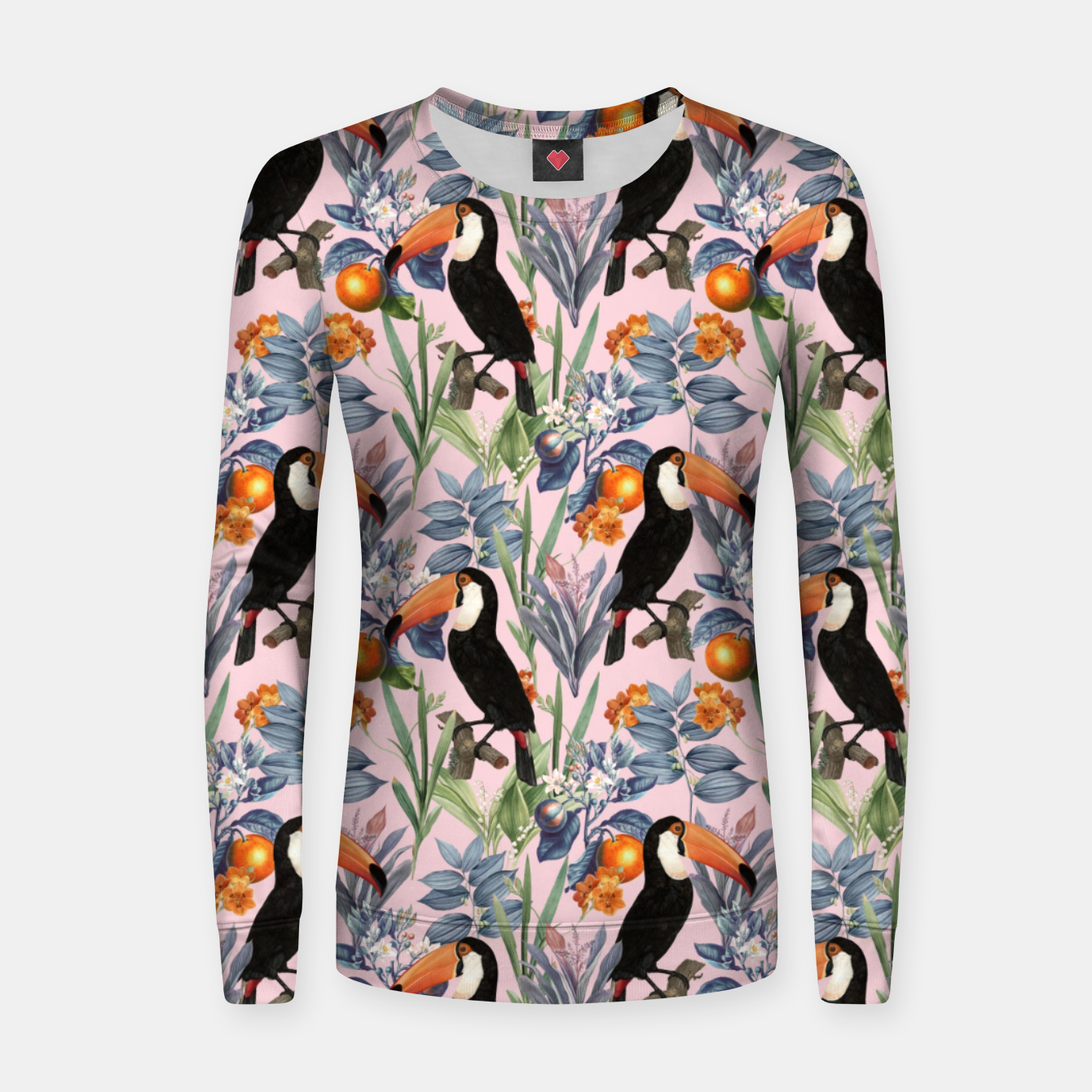 Image of Tucan Garden Women sweater - Live Heroes
