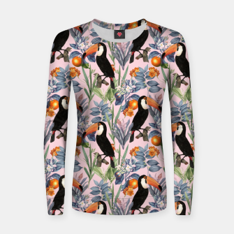 Thumbnail image of Tucan Garden Women sweater, Live Heroes