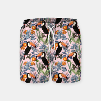 Thumbnail image of Tucan Garden Swim Shorts, Live Heroes