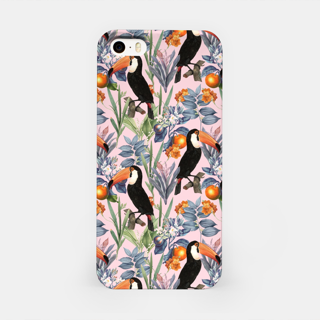 Image of Tucan Garden iPhone Case - Live Heroes