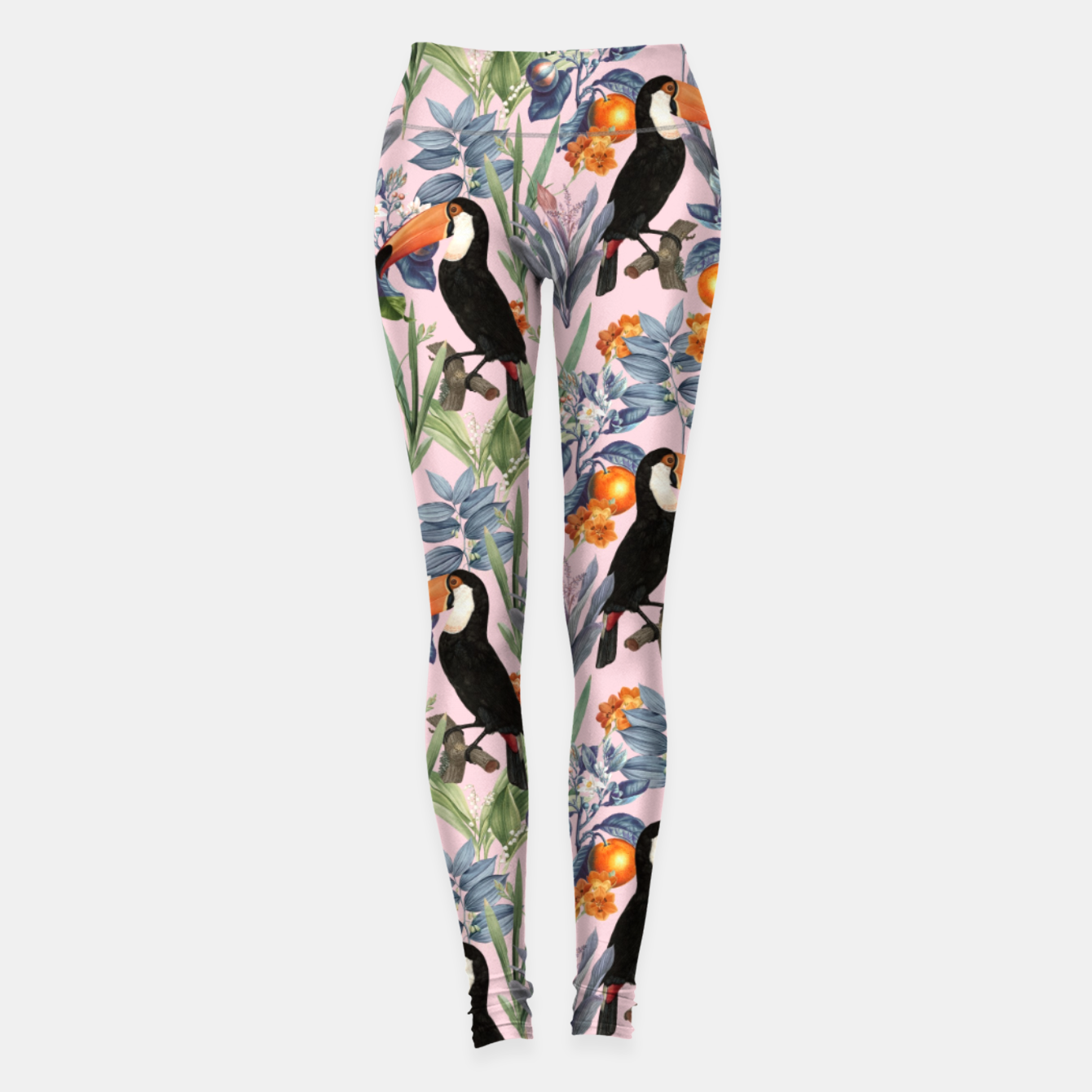 Image of Tucan Garden Leggings - Live Heroes