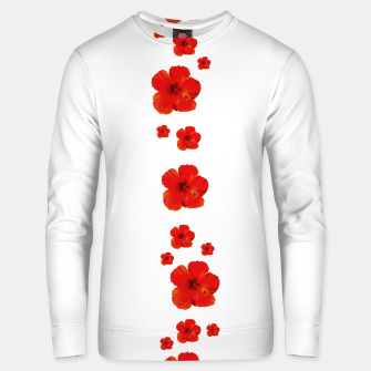 Thumbnail image of Minimal Floral Print Decor Design Unisex sweater, Live Heroes