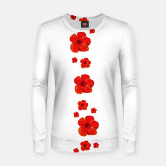 Miniatur Minimal Floral Print Decor Design Women sweater, Live Heroes