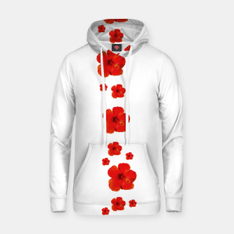 Thumbnail image of Minimal Floral Print Decor Design Hoodie, Live Heroes