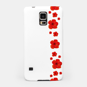 Thumbnail image of Minimal Floral Print Decor Design Samsung Case, Live Heroes