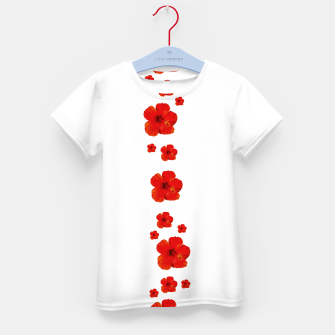 Thumbnail image of Minimal Floral Print Decor Design Kid's t-shirt, Live Heroes