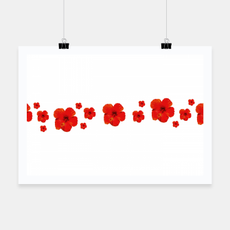 Thumbnail image of Minimal Floral Print Decor Design Poster, Live Heroes
