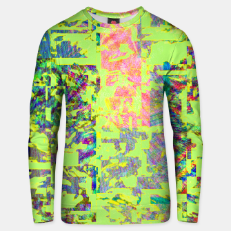 Thumbnail image of Neon green Unisex sweater, Live Heroes