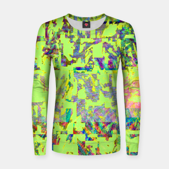 Miniatur Neon green Women sweater, Live Heroes