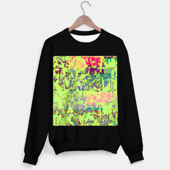 Miniatur Neon green Sweater regular, Live Heroes