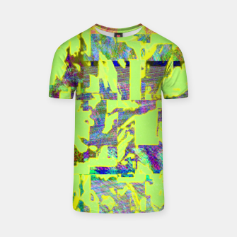 Thumbnail image of Neon green T-shirt, Live Heroes