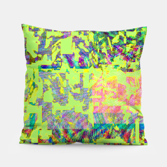 Thumbnail image of Neon green Pillow, Live Heroes