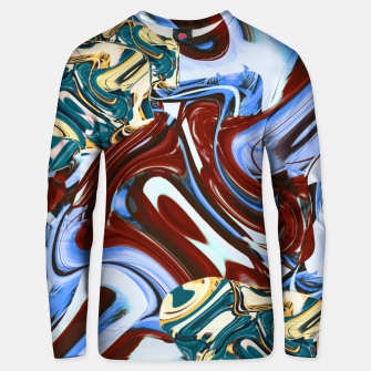 Thumbnail image of flaws Unisex sweater, Live Heroes