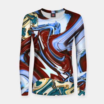 Thumbnail image of flaws Women sweater, Live Heroes
