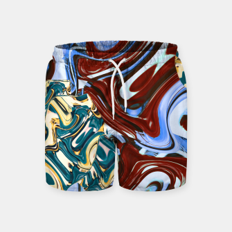 Thumbnail image of flaws Swim Shorts, Live Heroes