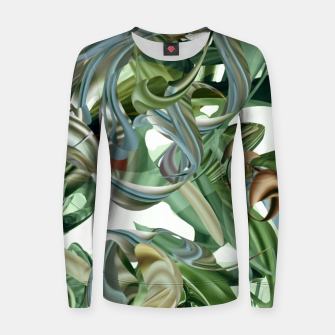 Thumbnail image of Haola green Women sweater, Live Heroes