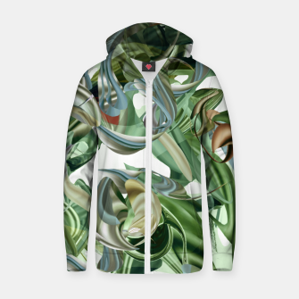 Thumbnail image of Haola green Zip up hoodie, Live Heroes