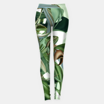 Thumbnail image of Haola green Leggings, Live Heroes