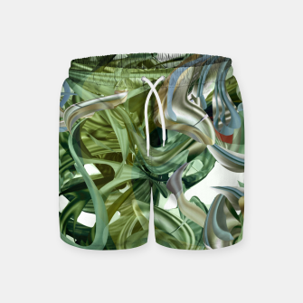 Thumbnail image of Haola green Swim Shorts, Live Heroes