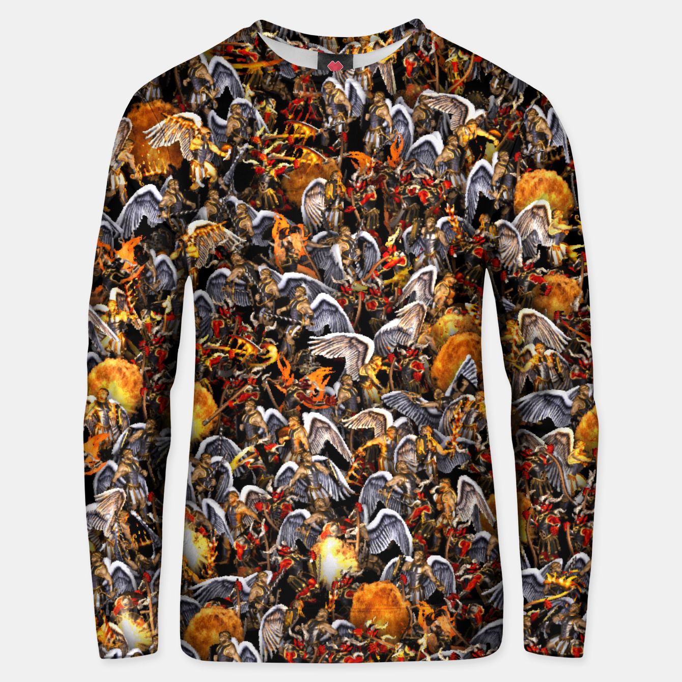 Image of Angels and Demons Unisex sweater - Live Heroes