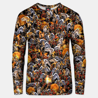 Thumbnail image of Angels and Demons Unisex sweater, Live Heroes