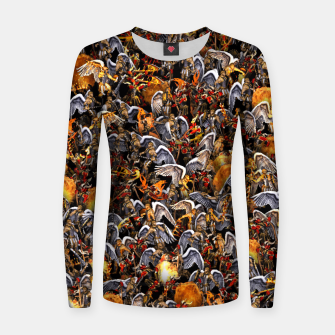 Thumbnail image of Angels and Demons Women sweater, Live Heroes