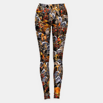 Thumbnail image of Angels and Demons Leggings, Live Heroes