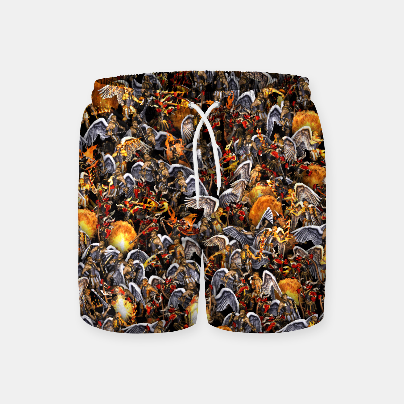 Image of Angels and Demons Swim Shorts - Live Heroes