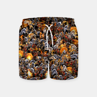 Thumbnail image of Angels and Demons Swim Shorts, Live Heroes