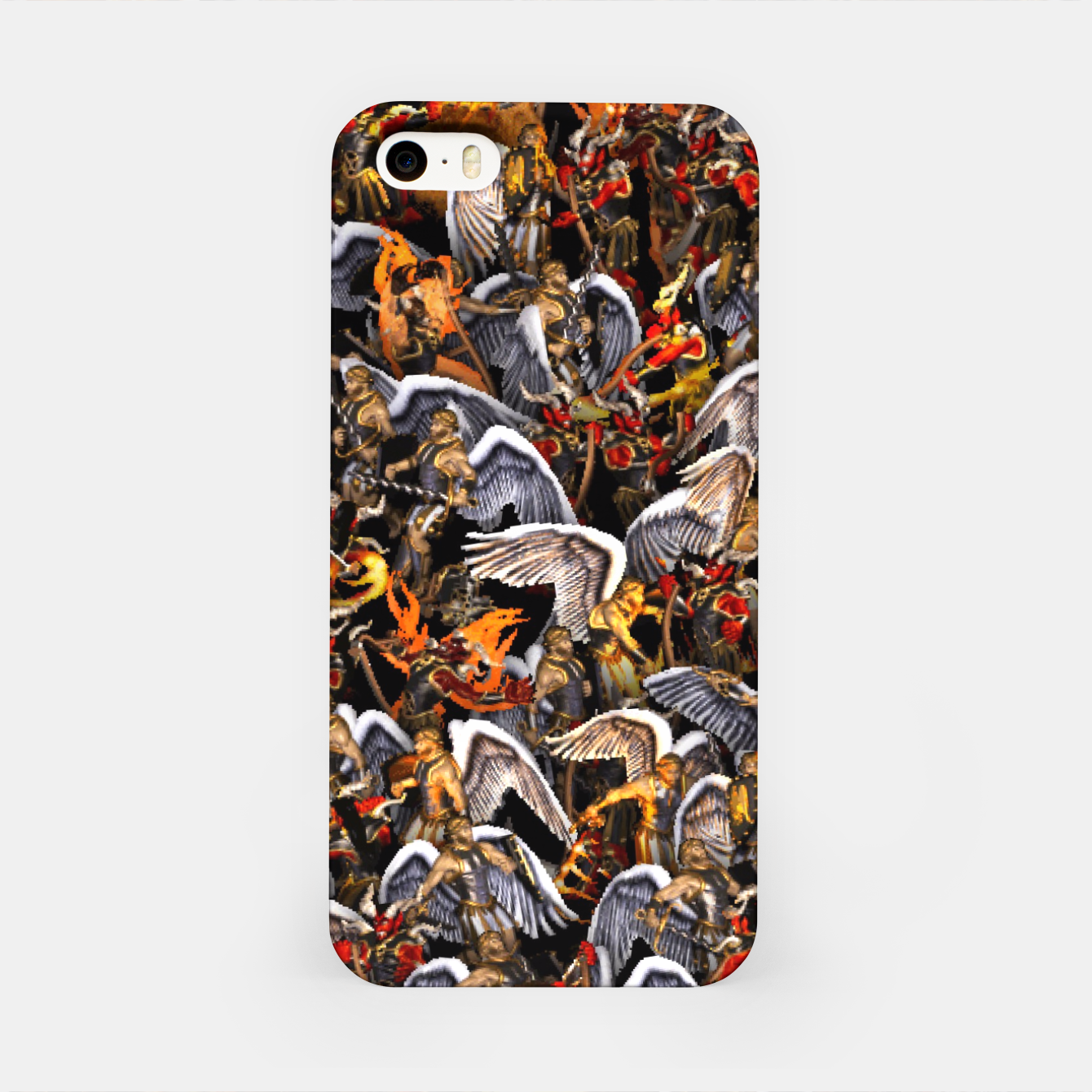Image of Angels and Demons iPhone Case - Live Heroes