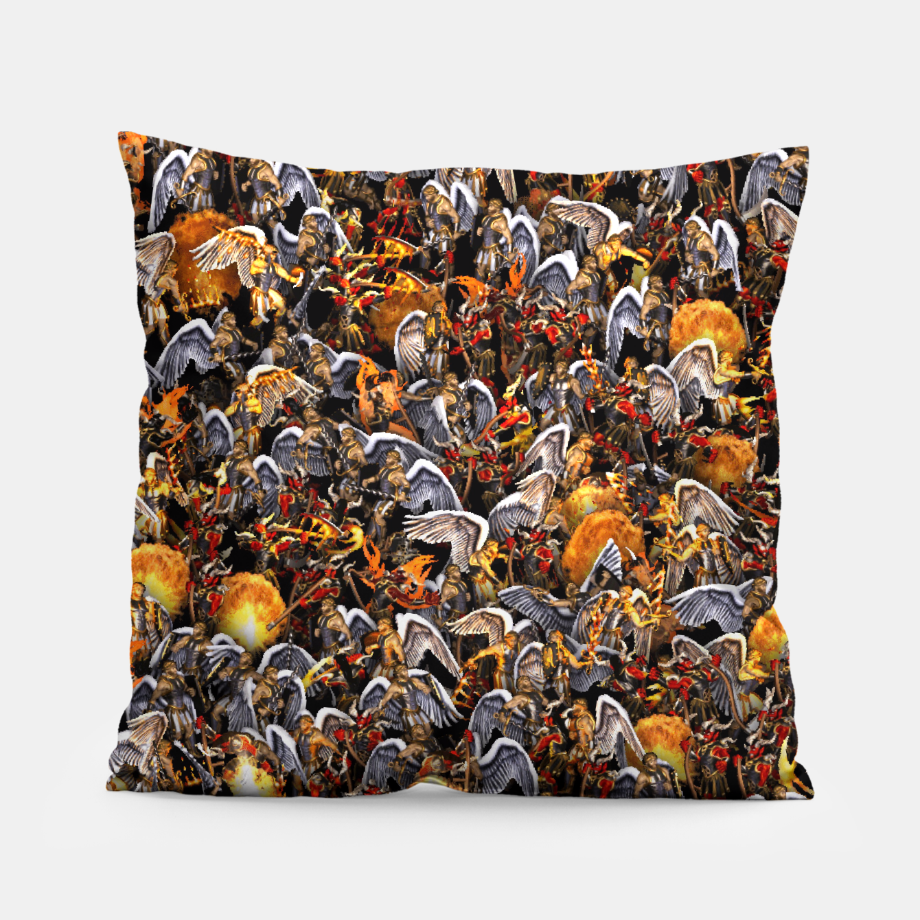 Image of Angels and Demons Pillow - Live Heroes
