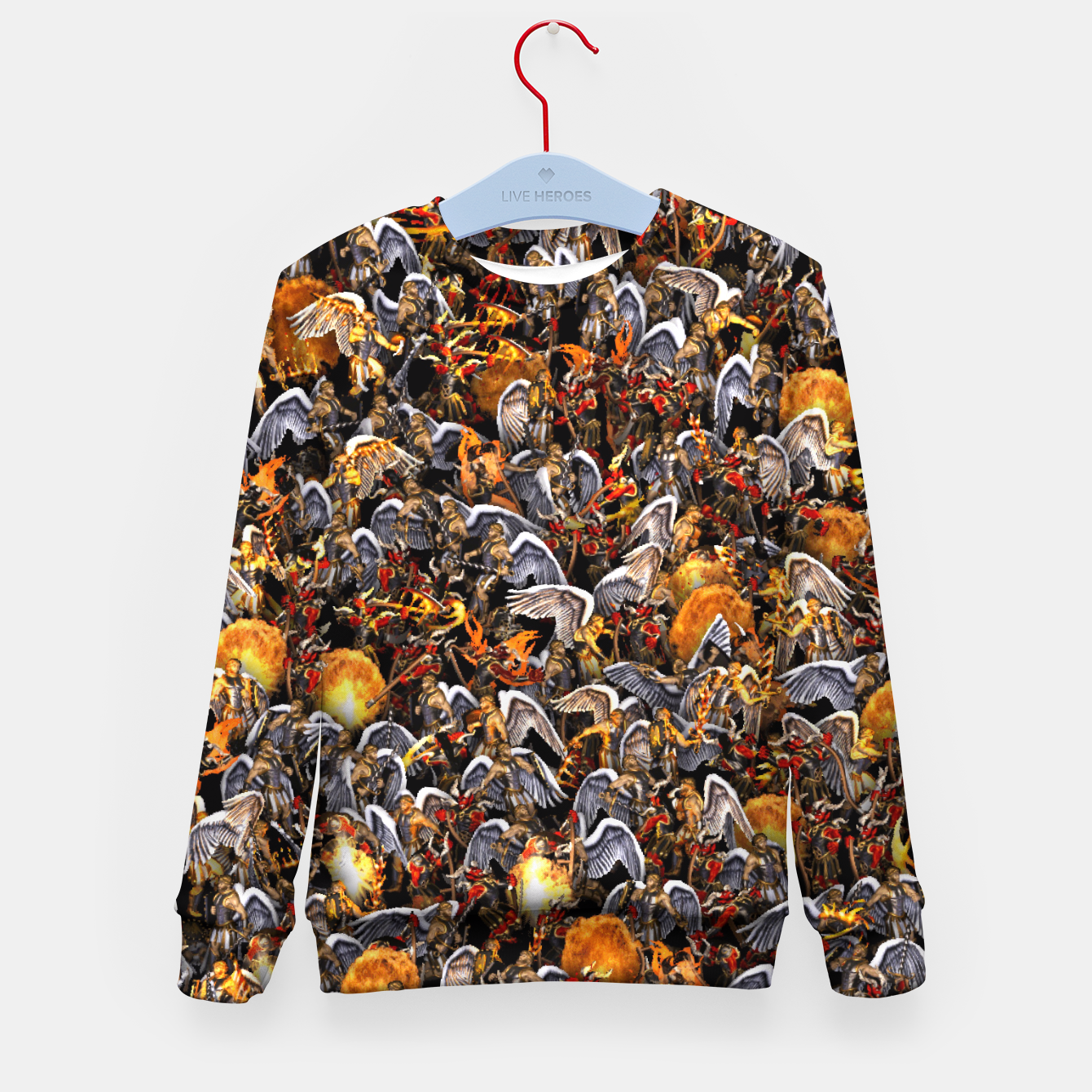 Image of Angels and Demons Kid's sweater - Live Heroes