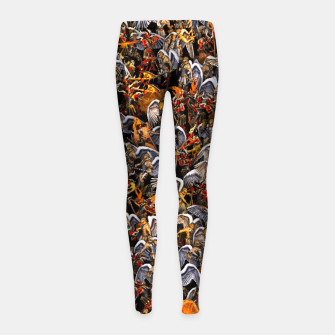 Angels and Demons Girl's leggings thumbnail image