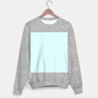 Thumbnail image of color light cyan Sweater regular, Live Heroes