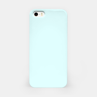 Thumbnail image of color light cyan iPhone Case, Live Heroes