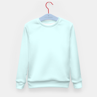 Thumbnail image of color light cyan Kid's sweater, Live Heroes