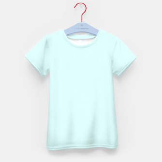 Thumbnail image of color light cyan Kid's t-shirt, Live Heroes