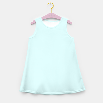 Thumbnail image of color light cyan Girl's summer dress, Live Heroes