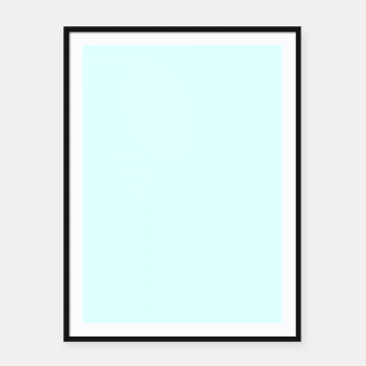 Imagen en miniatura de color light cyan Framed poster, Live Heroes