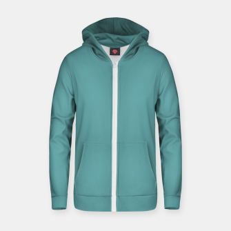 Thumbnail image of color cadet blue Zip up hoodie, Live Heroes