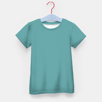 Thumbnail image of color cadet blue Kid's t-shirt, Live Heroes