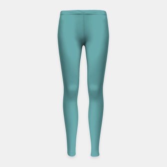 Imagen en miniatura de color cadet blue Girl's leggings, Live Heroes