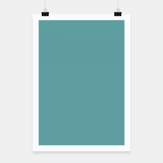 Thumbnail image of color cadet blue Poster, Live Heroes