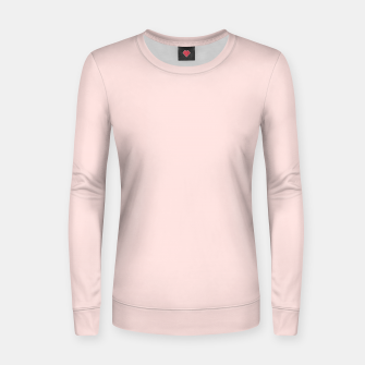 Thumbnail image of color misty rose Women sweater, Live Heroes