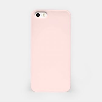 Thumbnail image of color misty rose iPhone Case, Live Heroes