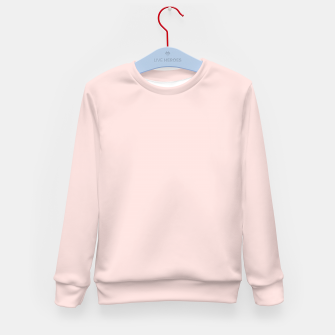 Thumbnail image of color misty rose Kid's sweater, Live Heroes