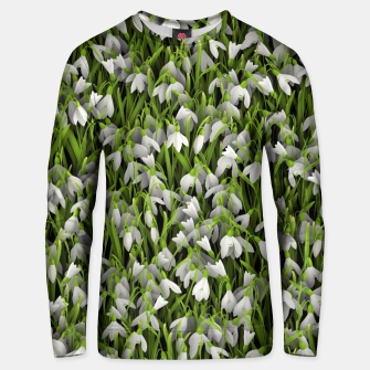 Thumbnail image of Snowdrops Unisex sweater, Live Heroes