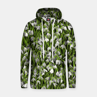 Thumbnail image of Snowdrops Hoodie, Live Heroes