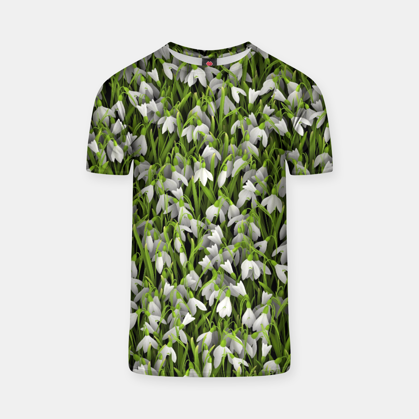 Image of Snowdrops T-shirt - Live Heroes