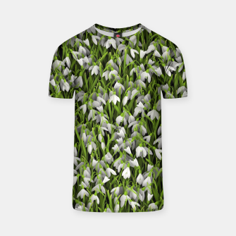 Thumbnail image of Snowdrops T-shirt, Live Heroes
